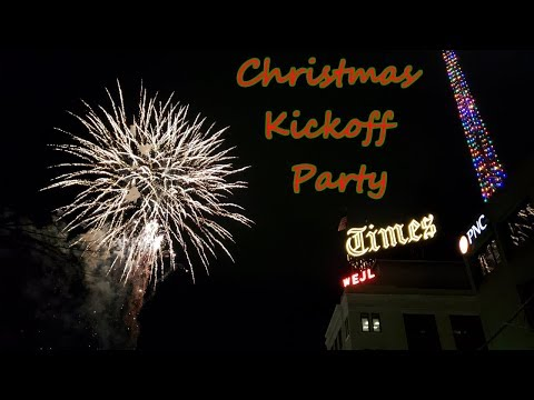 Christmas Kickoff 2018 - Lighting Of The Scranton Times Tower