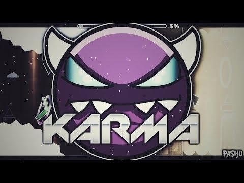 [MEGACOLLAB] - Karma By Pasho12 ,KittyFlare & More (DEMON) I Geometry Dash 2.11