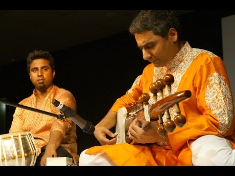 Raga Bhimpalasi on Sarod: Fast composition in 16 beat cycle (teentaal)