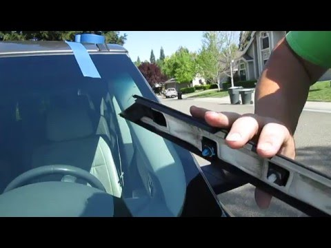 How To Install The A Pillar Windshield Molding On A Ford Flex