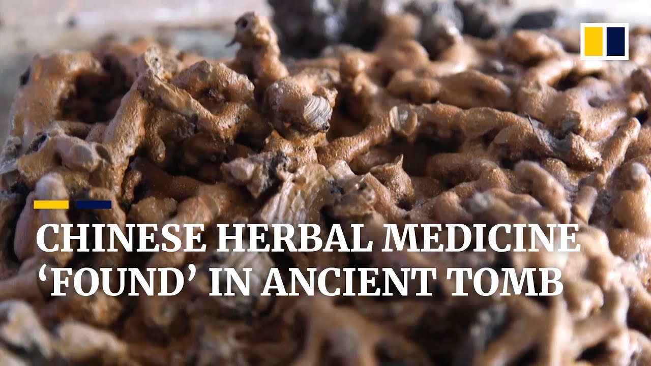 Archaeologists in China say they've found the earliest example of herbal medicine in imperial tomb