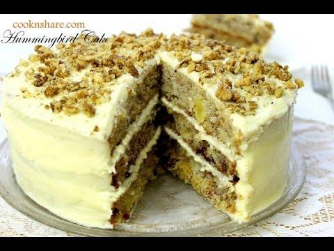 Hummingbird Cake Pineapple Banana Cake
