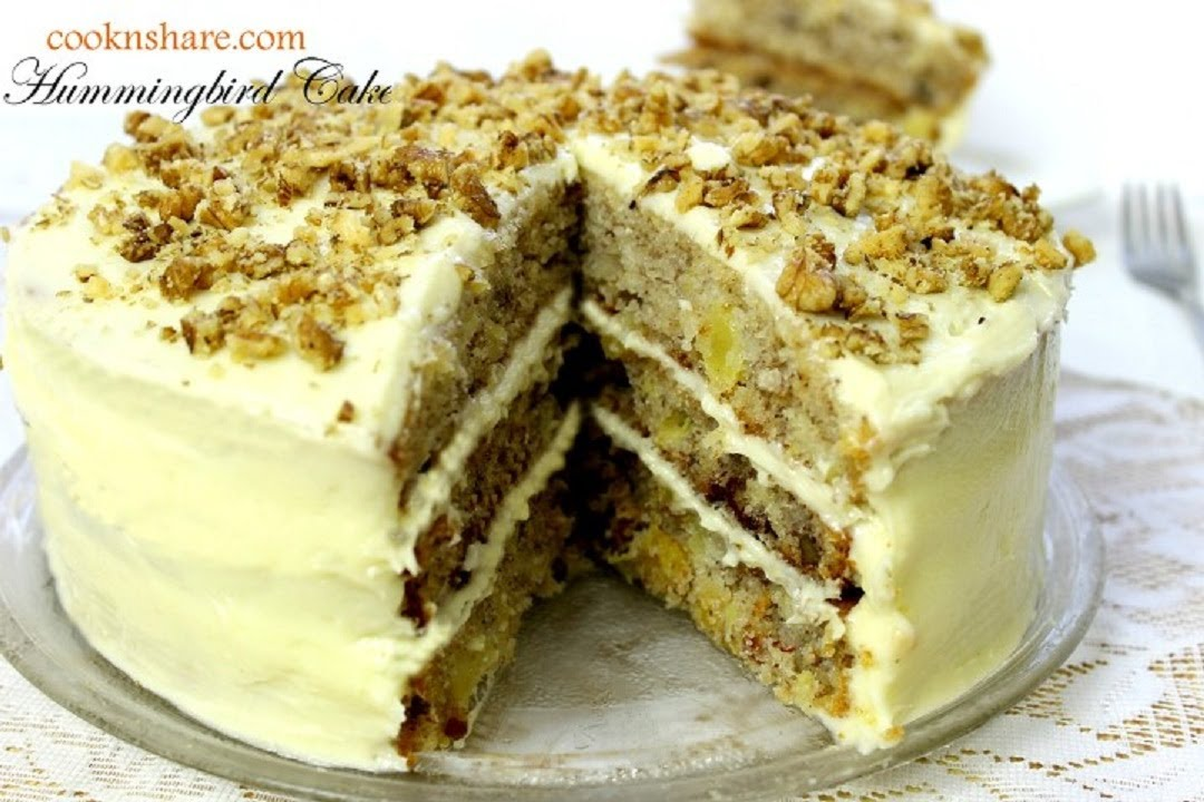 Best Hummingbird Cake