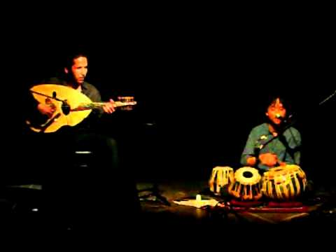 Tabla Solo | Duo al-Tarab | Saïd Benmsafer - oud | Edward Feldman - tabla