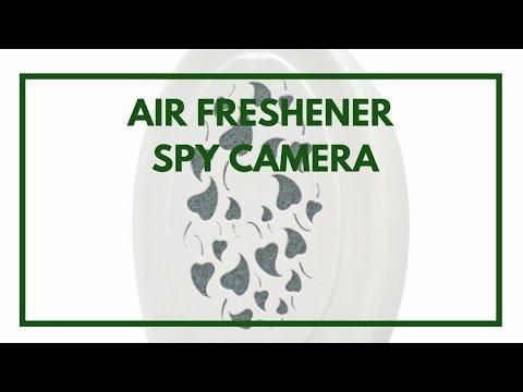 Air Freshener Camera Demonstration