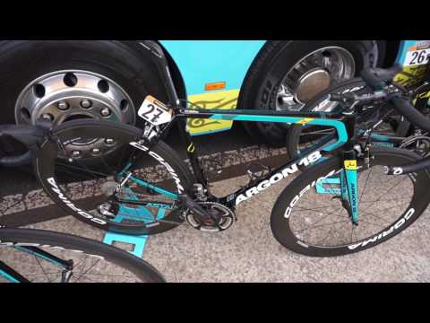 Stage 2 of Giro d'Italia with Astana Proteam