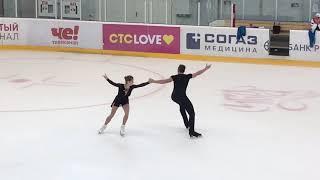 Анастасия Мишина Александр Галлямов новая произвольная программа 21 22