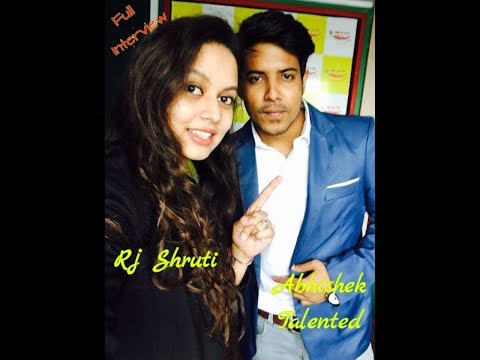 RJ Shruti - Abhishek Talented Full Interview Radio Mirchi 98.3 FM | Patna |