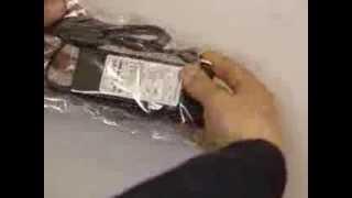 Смотреть видео Блок питания для ноутбука Samsung 90W 19V 4.7A - Купить сетевой адаптер для ноутбука Samsung