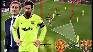 What Went Wrong For Solskjær Against Valverde? Man UTD 0-1 Barcelona / Tactical Analysis