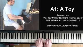 A:1 A Toy (ABRSM Grade 1 piano 2021-2022)