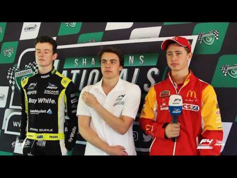 Shannons Nationals Press Conference: Formula 4