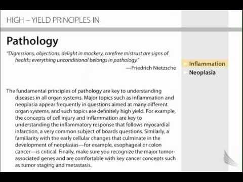 Pathology - Inflammation - FirstAid - USMLE STEP 1