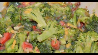 Easy Gourmet Broccoli Salad!