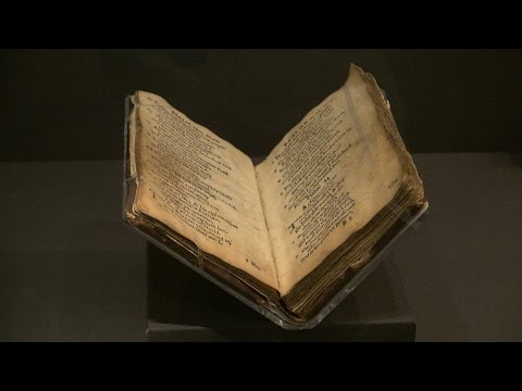 Library of Congress Showcases First Book Printed in U.S.