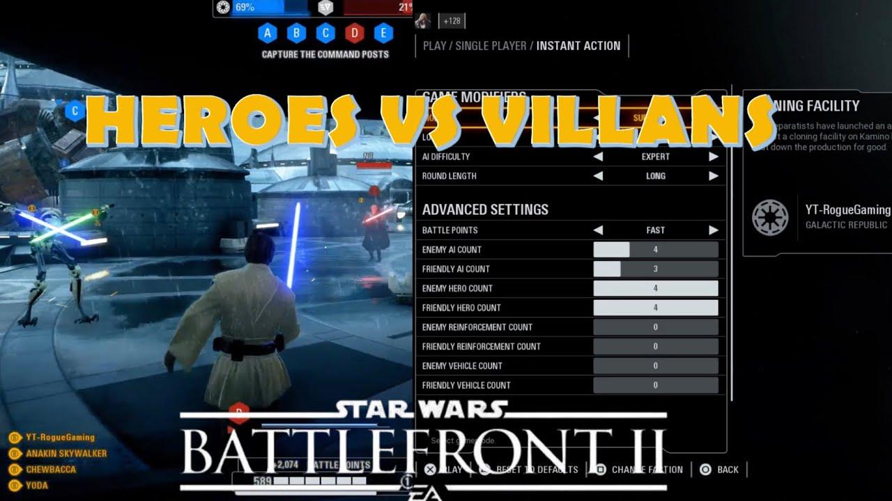 Download How to Play Offline Heroes vs Villains - Star Wars Battlefront 2 (Updated)