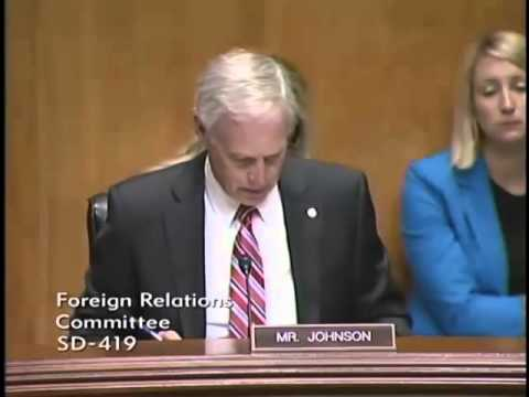 Senator Johnson at the Foreign Relations Committee