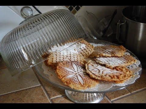 Chicago Johnnys Italian Pizzelle Almond Cookie Recipe