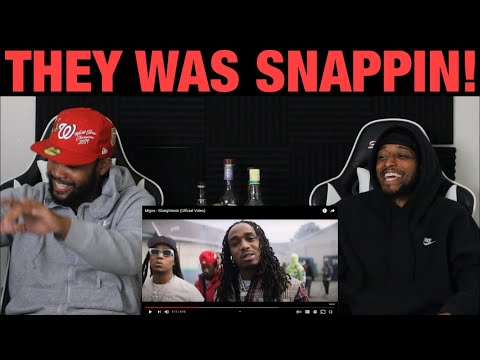 Migos – Straightenin | Official Music Video | FIRST REACTION
