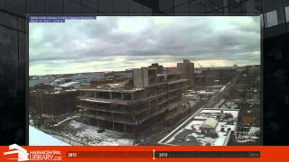 halifax central library construction timelapse