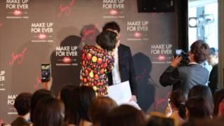 イギリスの歌姫ジェシー・Jが「メイクアップフォーエバー」のイベントに...