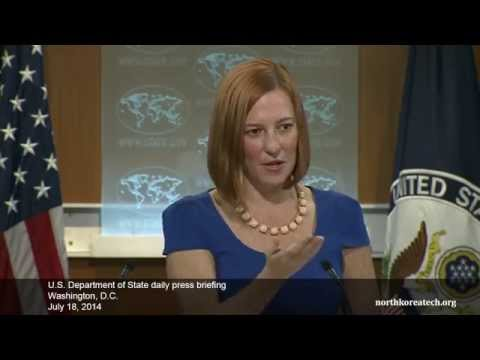 North Korea questions at State Dept. briefing, July 18, 2014