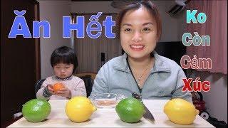 🇯🇵Thử Thách Ăn Chanh & Cái Kết Ko Còn Cảm Xúc - Cuộc sống ở Nhật#121