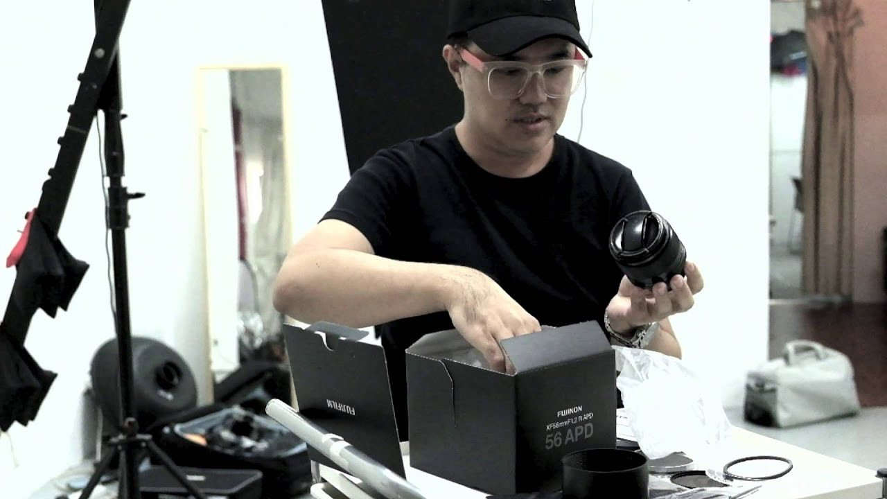 Unboxing The New Fuji Xf56mm F12 R Apd Youtube Fujinon F 12 Lens