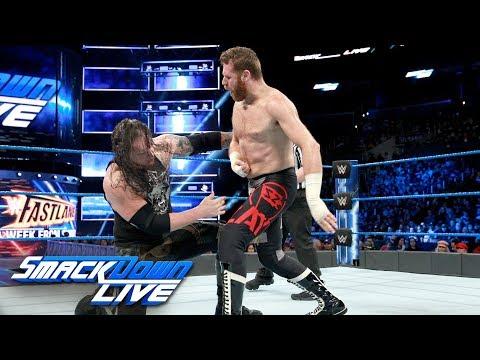 Sami Zayn vs. Baron Corbin: SmackDown LIVE, Feb. 27, 2018