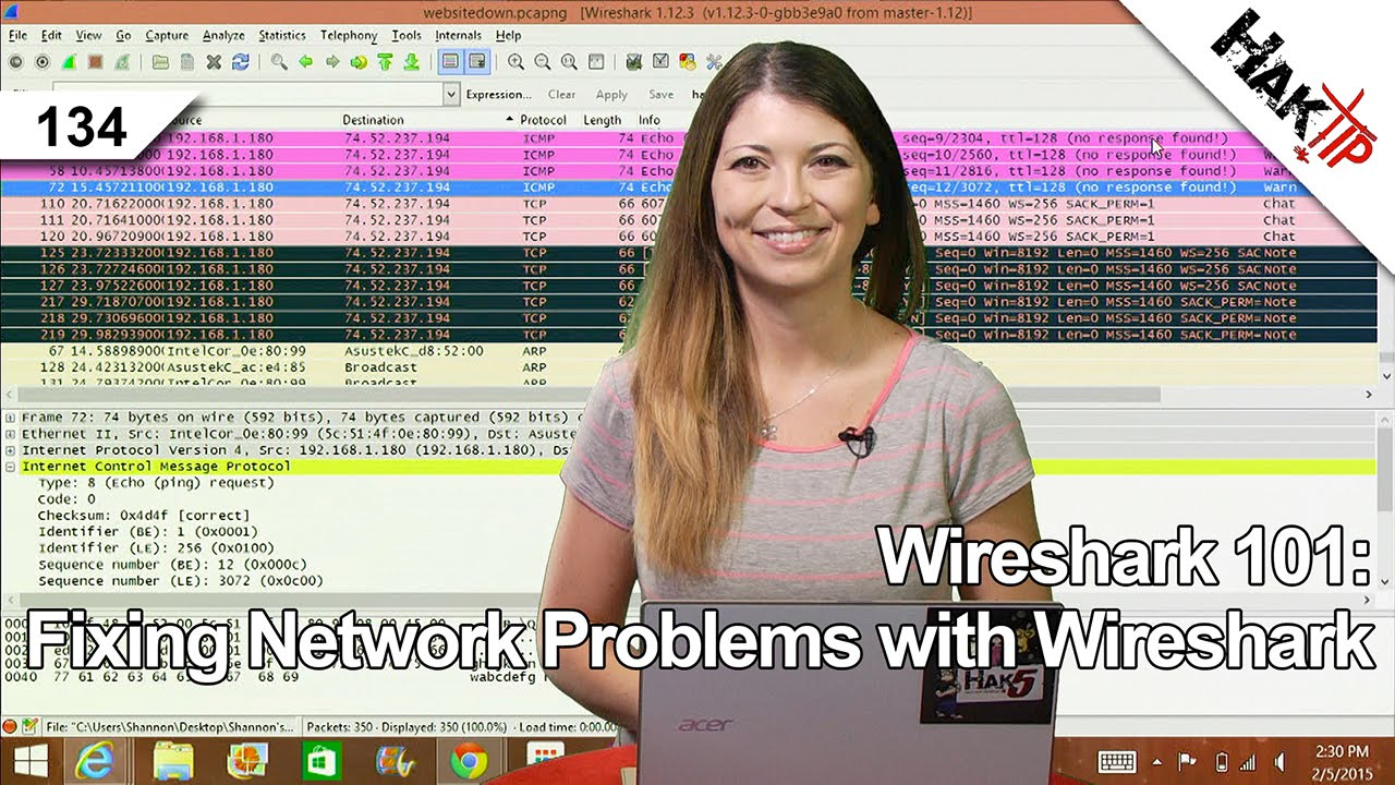 HakTip 134 – Wireshark 101: Fixing Network Problems with