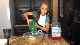 Spooky Hand Punch | Hunter in the Kitchen episode 27 Halloween Kid Recipes