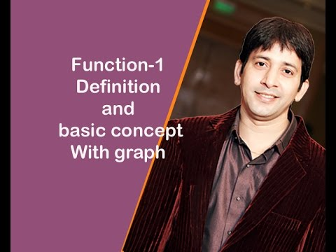 Function-1(Definition and basic concept)