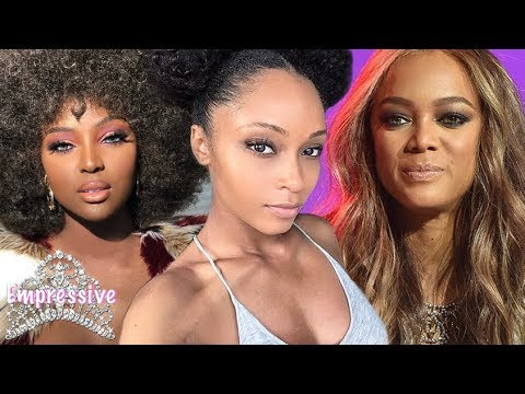 Yaya DaCosta praises Amara La Negra and slams Tyra Banks & ANTM over natural hair comments
