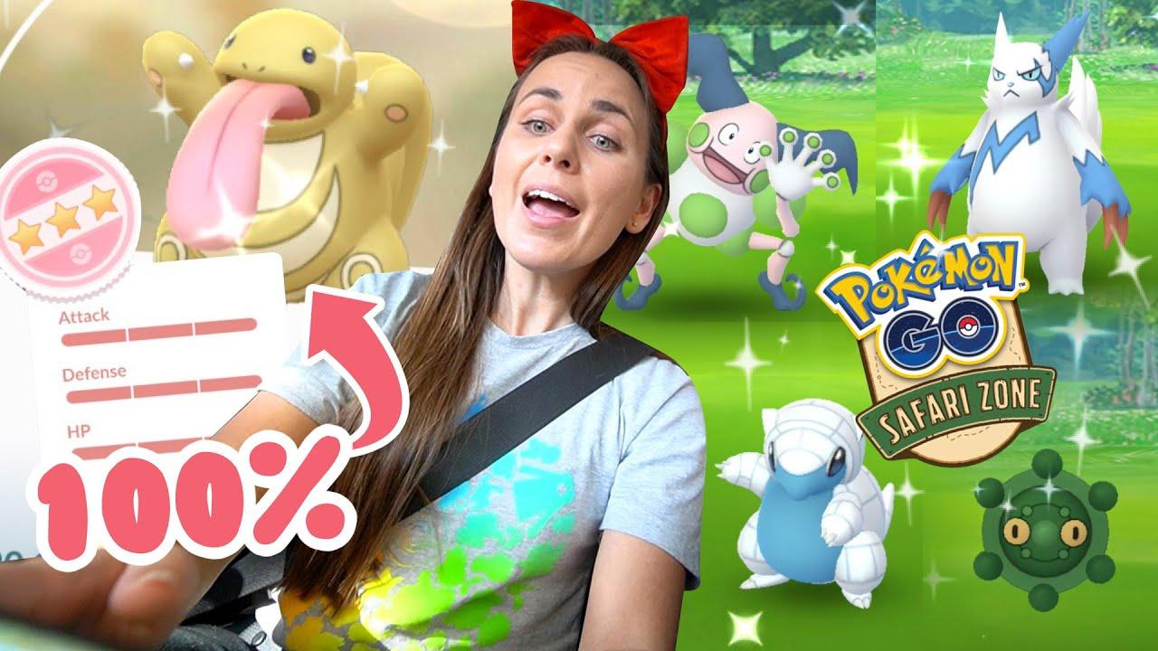 My BEST Shiny Hunt EVER! 30+ Shinies Philadelphia Safari Zone   Pokémon GO thumbnail