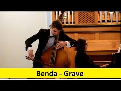 Georg Anton Benda - Grave