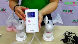 Máy hút sữa điện đôi Spectra 9S - metron.vn - Máy hút sữa Hàn Quốc hot nhất