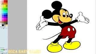 ЂЂЂ Disney Mickey Mouse Colouring ЂЂЂ ЂЂЂ Микки Маус раскраска игра для детей