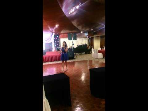 Grace Tan in Raintree Club 2015 Annual Karaoke Competition