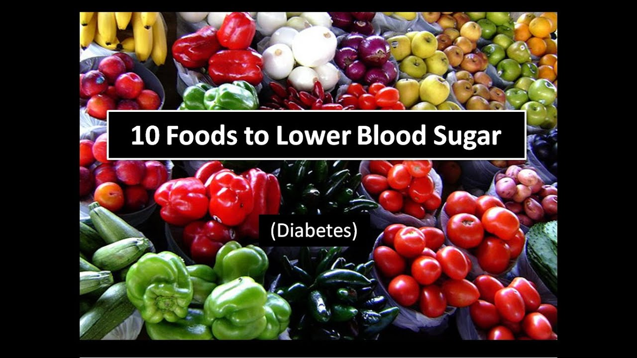 foods to avoid to keep blood sugar down