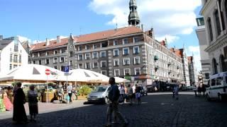 アキーラさん訪問!ラトヴィア・リガ・市庁舎広場1,City-counsil,Riga,Latvia