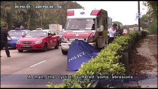 Cyclist killed in accident at Lornie Rd - 28Jun2013