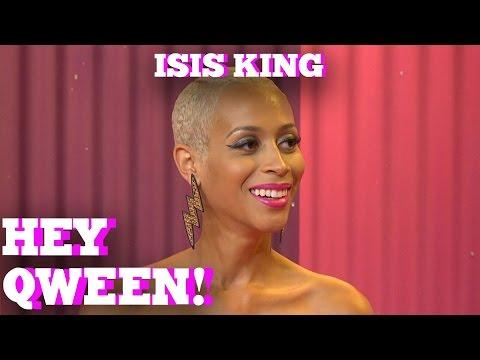 Isis King on HEY QWEEN! with Jonny McGovern