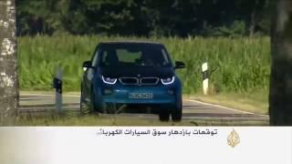باريس تعرض أحدث طرز السيارات الكهربائية