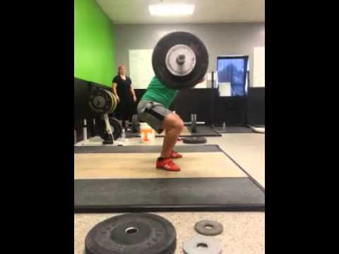 Crossfit Knoxville Barbell Club 130kg Clean And Jerk