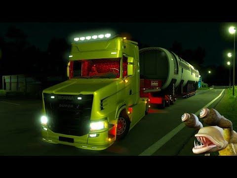 Scania T 730 Next Gen ОБЗОР Euro Truck Simulator 2 (v1.32.x, 1.33.x)