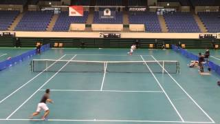 東海学生選抜室内テニス選手権大会 〇小野和哉(近畿大学)6‐2 6‐3...