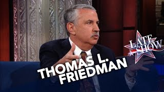 Thomas L. Friedman On How To Survive In The Age Of Acceleration