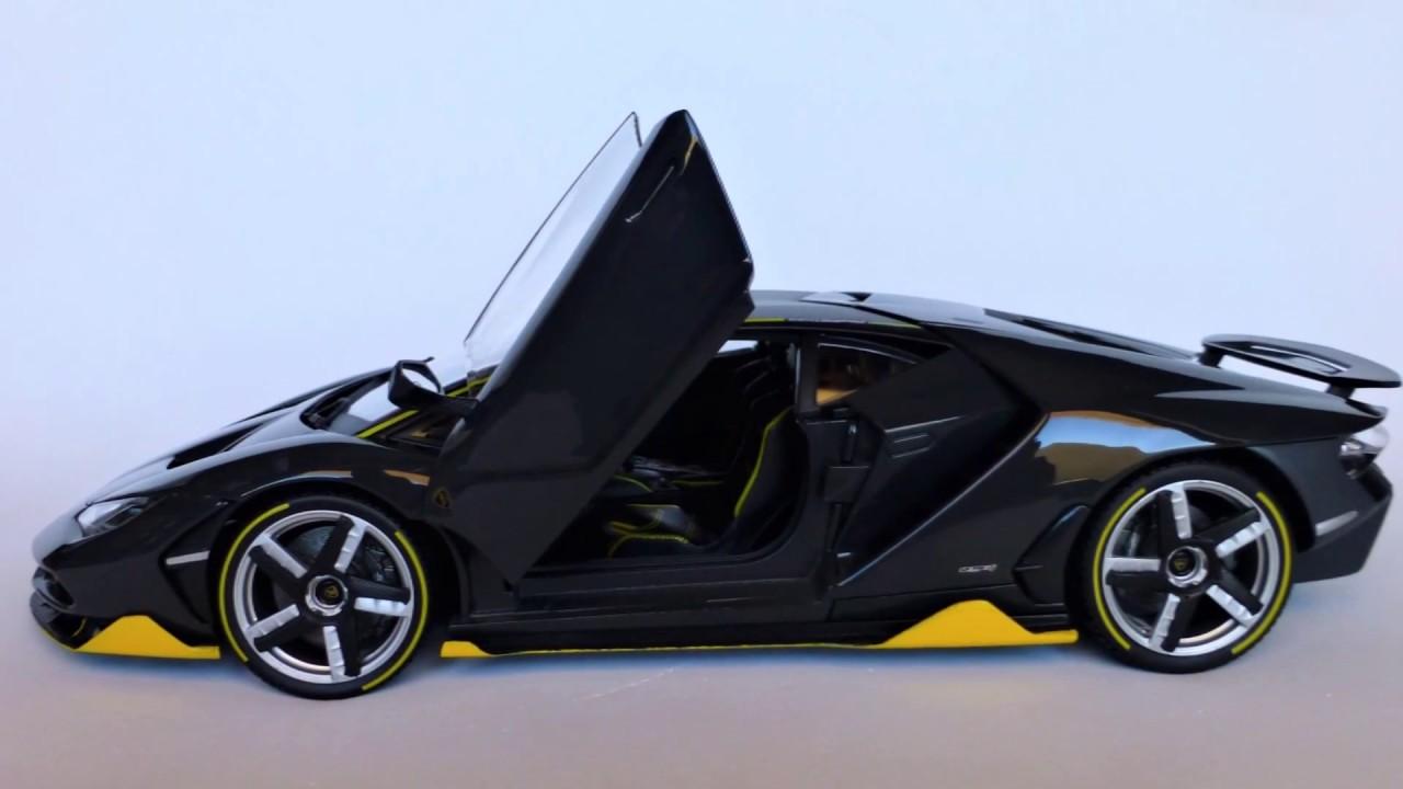 Model Car Lamborghini Centenario Grey Exclusive Maisto 1 18 Scale