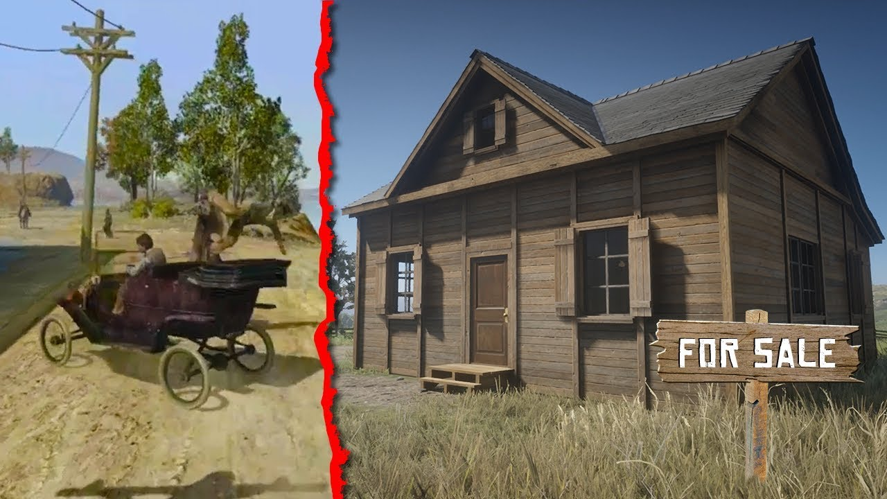 Red Dead Online - Cars, HOUSE LOCATIONS, & Release Date! (Red Dead Online Properties)