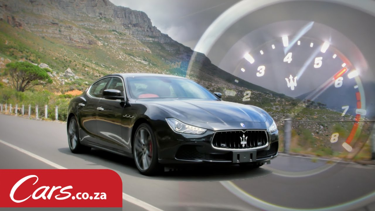 Maserati Ghibli S At The Red Line - Review